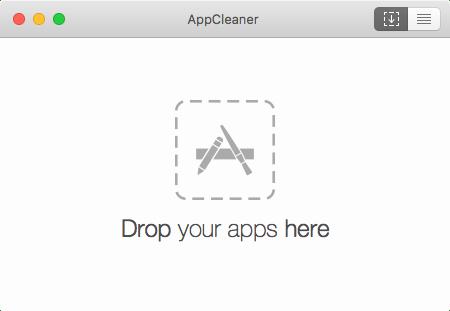 AppCleaner 起動画面