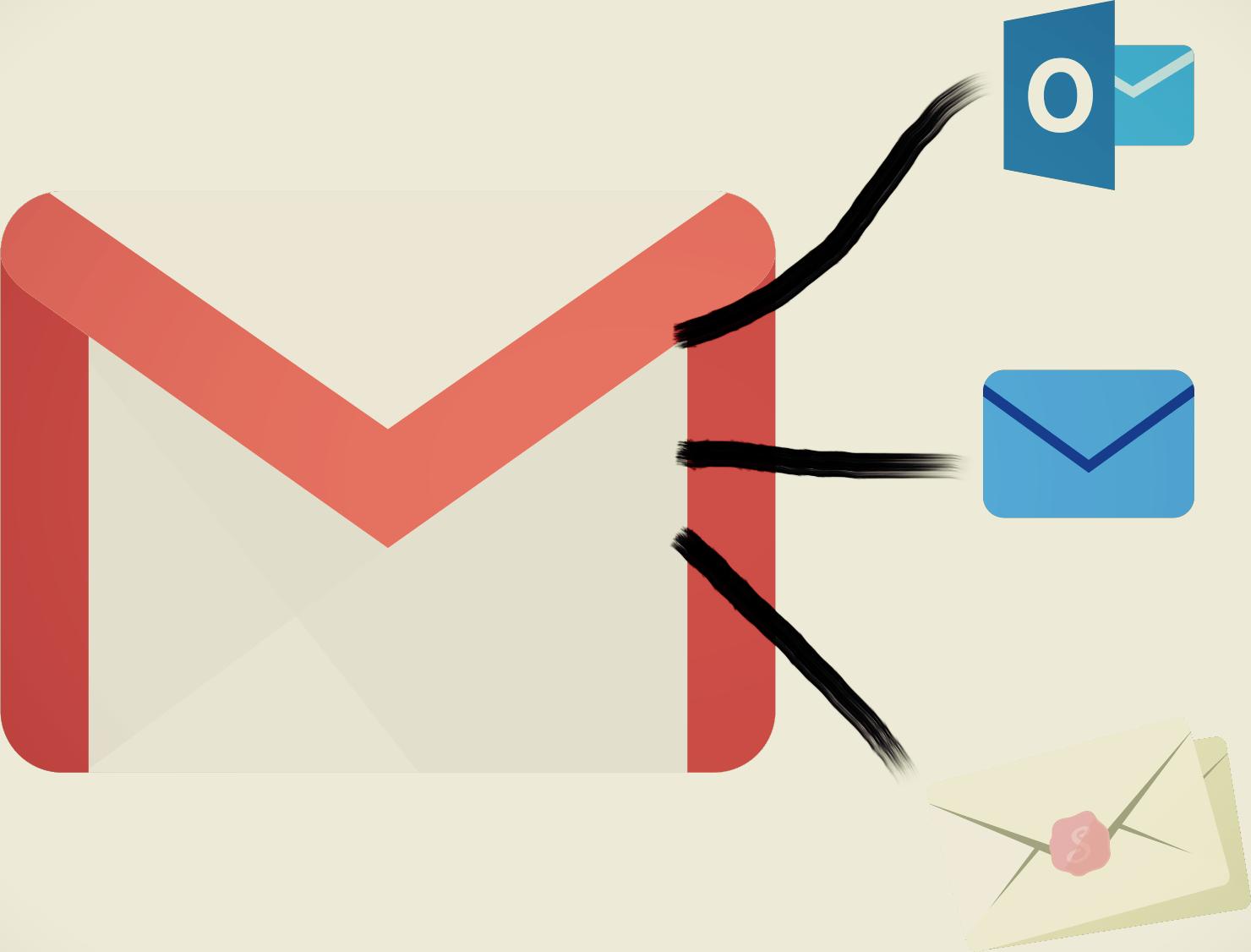 Gmailで複数メールアドレス送受信を行う-アイキャッチ